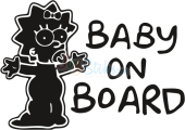 Baby on board Lisa