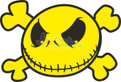 Scull yellow