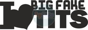 Big fake tirs